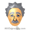 Albert Einstein Mii Image by Tito